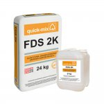 Quick-mix - flexible, two-component sealing compound FDS 2K