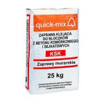 Quick-mix - adhesive mortar for aerated concrete blocks and KSK silicate bricks