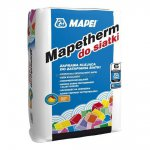Mapei - Mapetherm adhesive mortar for the mesh